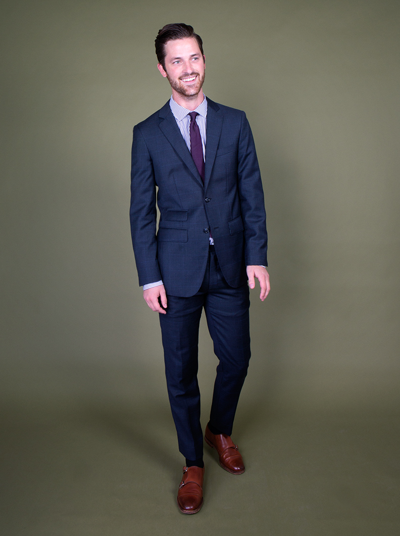 Tailored Fall Suits, Navy Suits, Tweed Jackets