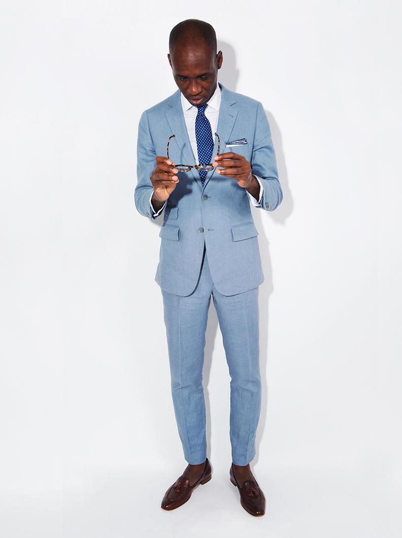 Custom Summer Suits, Tan Suits, Linen Suits