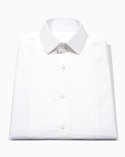 Broadcloth Tuxedo Shirt / 1153T