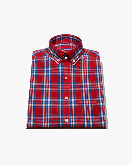 Red Tartan Plaid / 1210