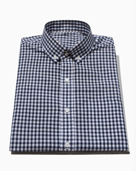 Navy Medium Gingham / 1224
