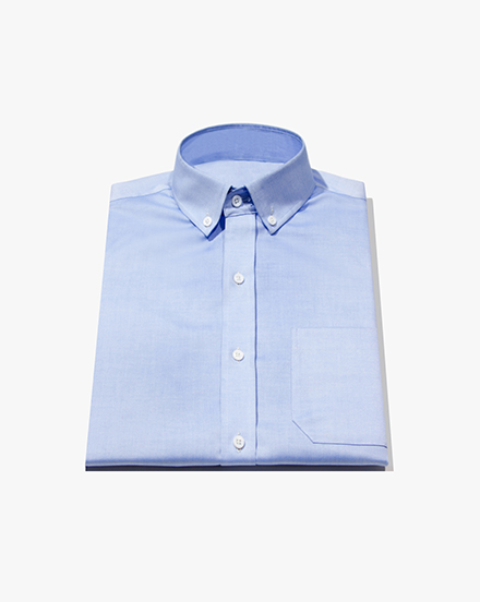 Blue Lightweight Oxford / 1232