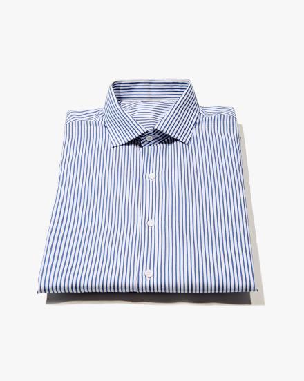 Blue Stripe Twill / 1235
