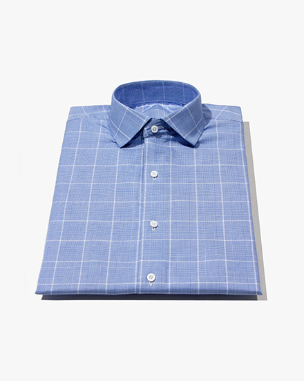 Light Blue Glen Plaid / 1246