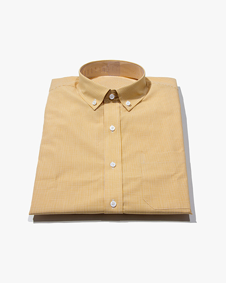 Yellow Micro-Gingham / 1251