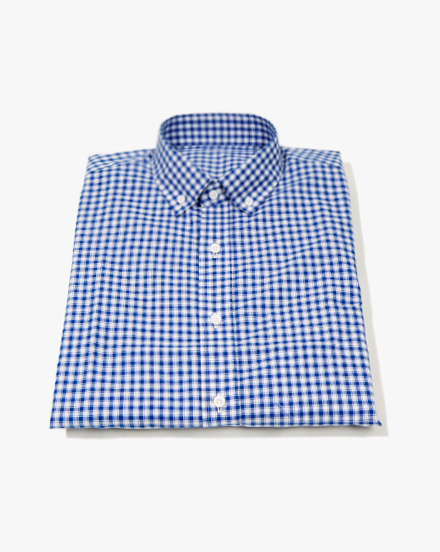 Blue Plaid / 1260
