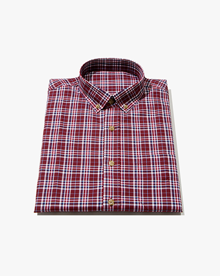 Burgundy Plaid / 1275