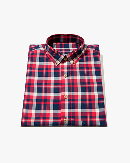 Red Plaid / 1278
