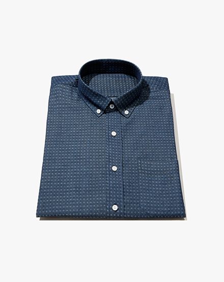 Diamond Dot Chambray / 1284