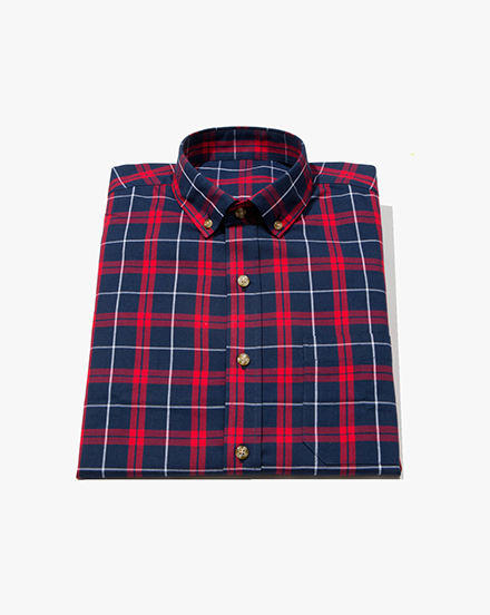Navy Plaid / 1289