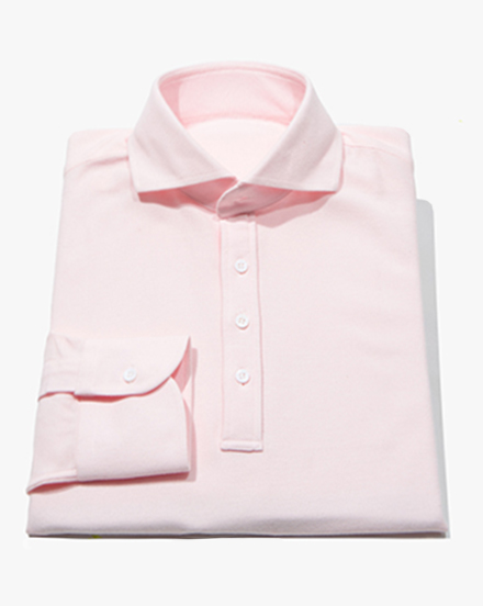 Light Pink Polo / 1295