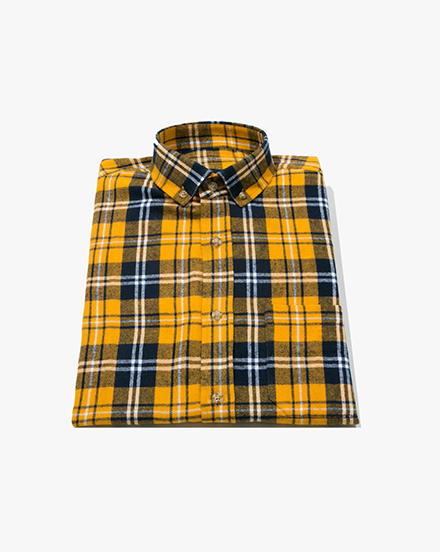 Navy-Yellow Plaid / 1300