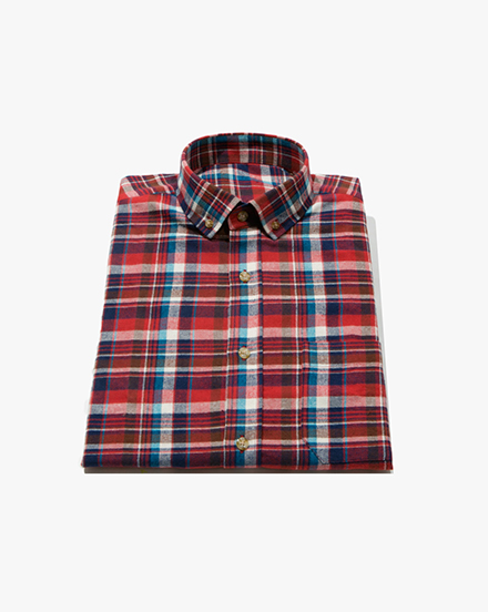 Red Plaid / 1301