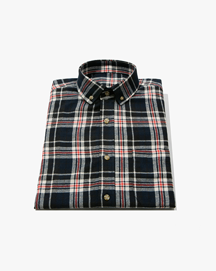 Navy Plaid / 1303
