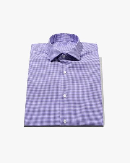 Purple Micro-Gingham / 1346
