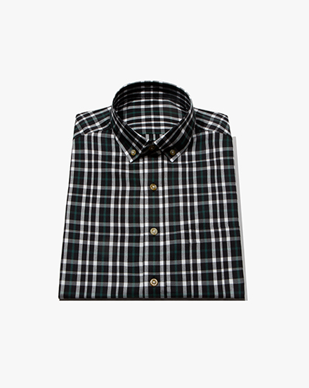 Black Plaid / 1385