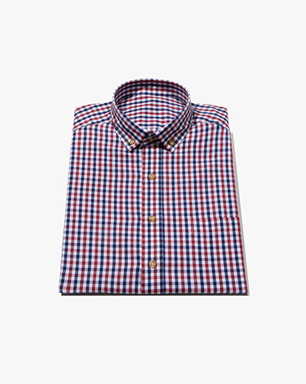 Red Two-Tone Gingham / 1389