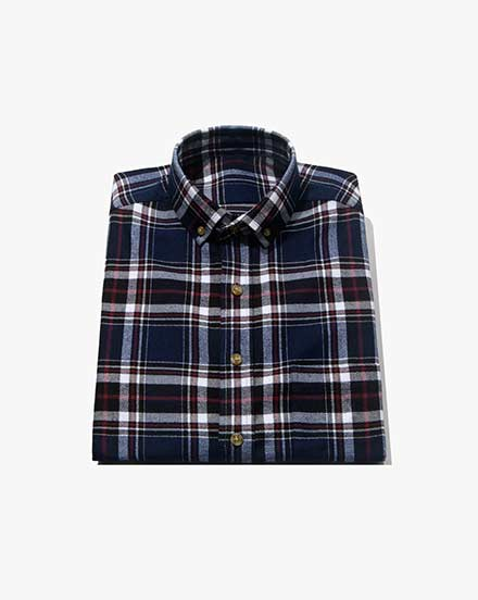 Blue Plaid / 1391