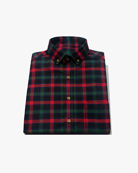 Red-Green Plaid / 1393