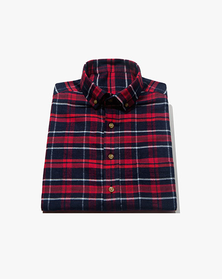 Blue-Red Plaid / 1394