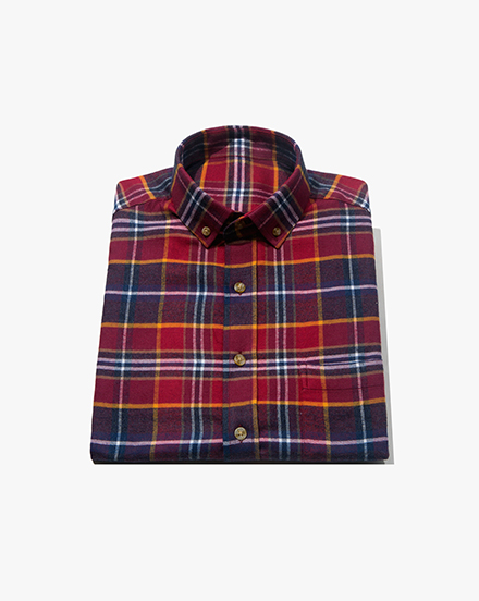 Purple-Red Plaid / 1395