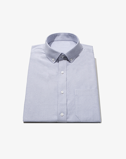 Grey Brushed Oxford / 1402