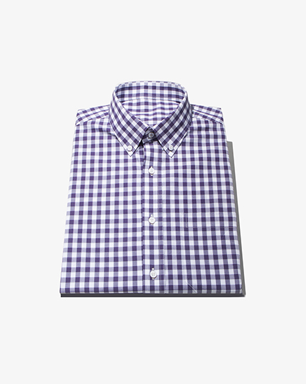 Dark Purple Gingham / 1417