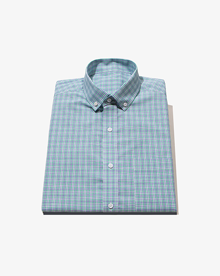 Blue Green Glen Plaid / 1439