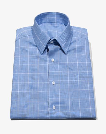 Bright Blue Glen Plaid  / 1461