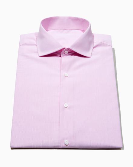 Pink Micro-Check / 1481