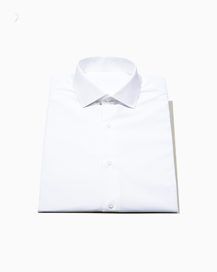 White Stretch Oxford / 1501