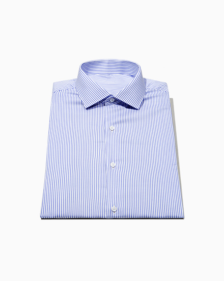 Blue Stripe Oxford / 1502