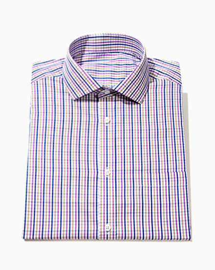 Blue and Purple Check / 1549