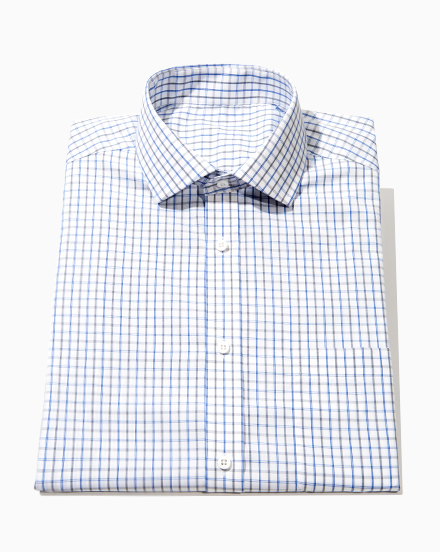 Blue and Black Check / 1550