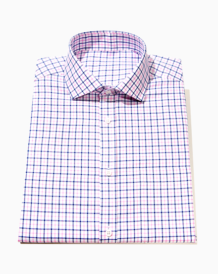 Blue and Pink Check / 1552