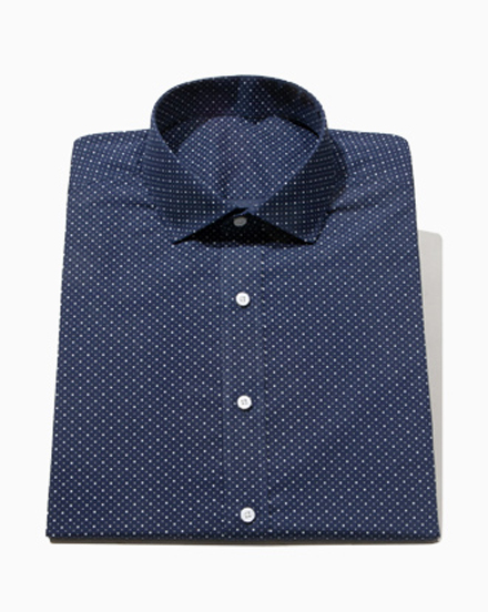 NEW Navy Dot Print / 1574