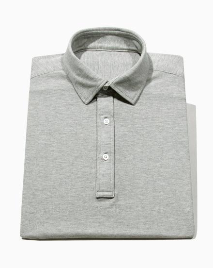 Classic Grey Polo / 1623