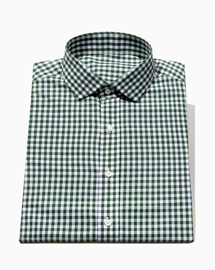 Forest Green Gingham / 1626