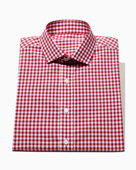 Cranberry Gingham / 1627
