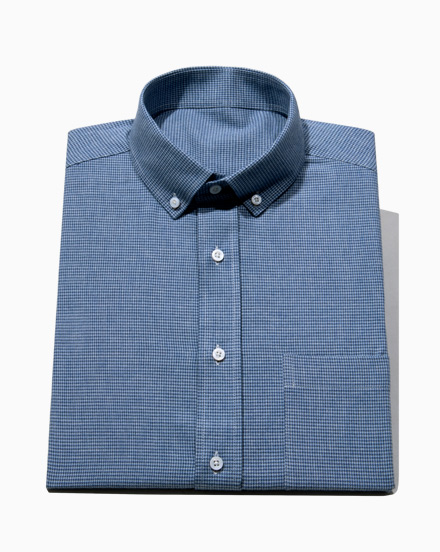 Blue Houndstooth / 1674
