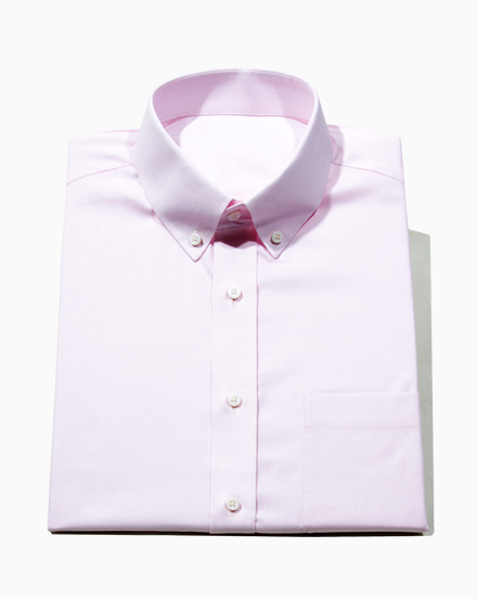 Pink Stretch Oxford / 1681