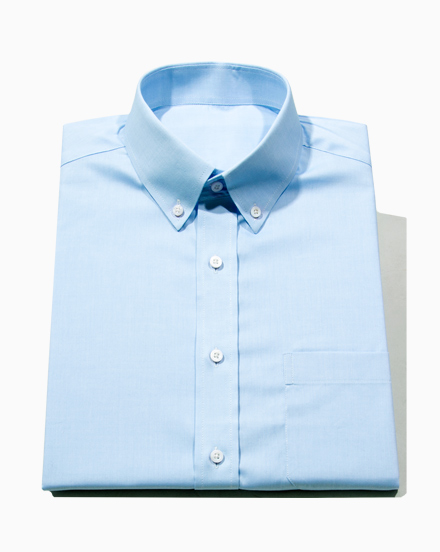 Blue Stretch Oxford / 1682