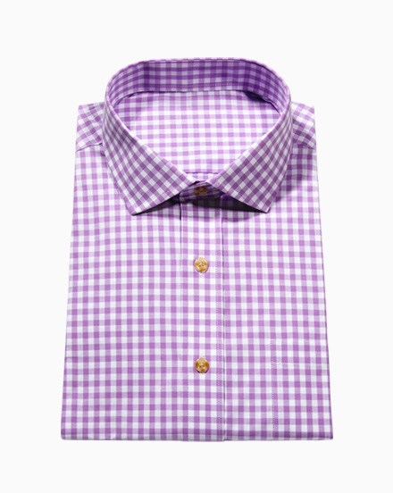 Lilac Gingham / 1721
