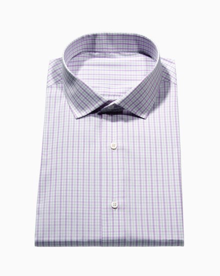 Lavender & Black Simple Check / 1749
