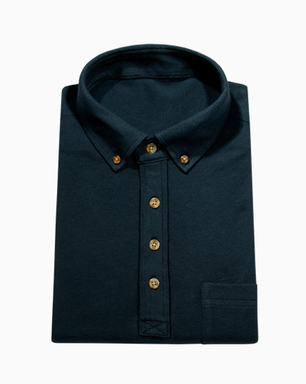 Deep Teal Polo / 1759
