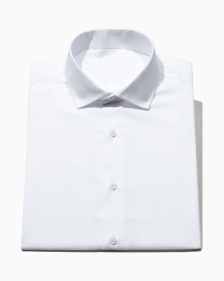 White Pinpoint Oxford / 5002