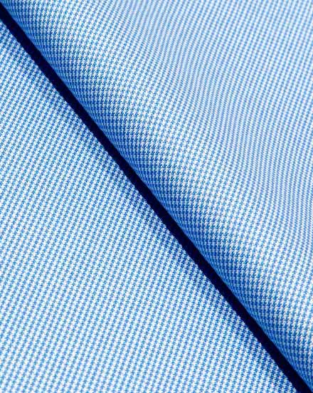 Light Blue Pattern Oxford / 1688