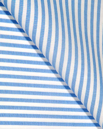 Light Blue Wide Stripe / 1718