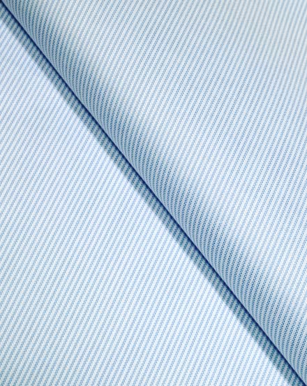 Blue Striped Oxford / 5227