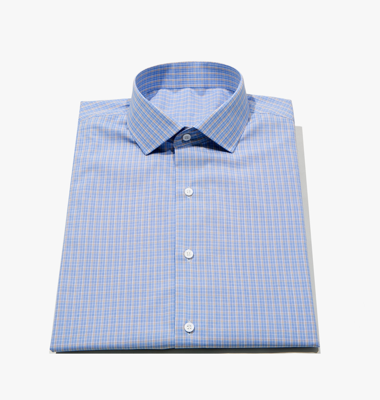 Shirts transitional blue yellow tattersall 1311 formal for Blank label clothing